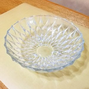 Vintage Footed Glass Bowl